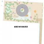 建築計画B案配置図