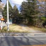 国道146号沿い土地